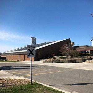 solar panels roof @Centennial Recreation Centre
