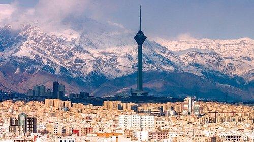 تهران آسمان آبی