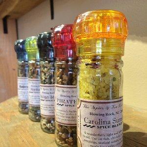 Great selection of grinder blends