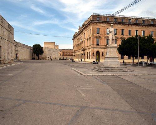 The vast Piazza Giuseppe Libertini