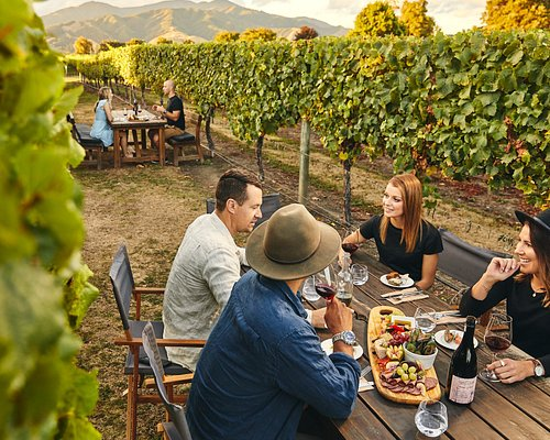 Unique vineyard setting - dining in the vines at its best!