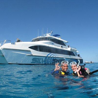 Silverswift scuba divers