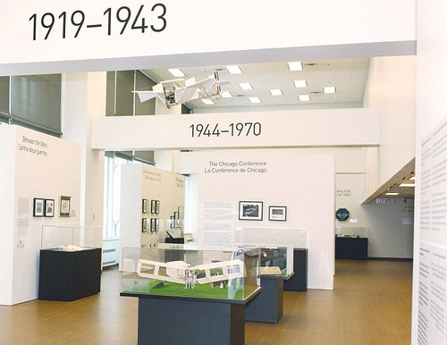 The ICAO Museum is free and open to the public Tues-Fri, 12.30 pm to 4.30 pm, except public holidays and between Christmas and New Years.
