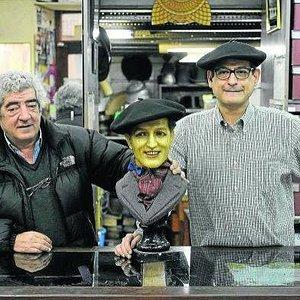 Iñaki y Emilio: Séptima generación en la sombrerería.