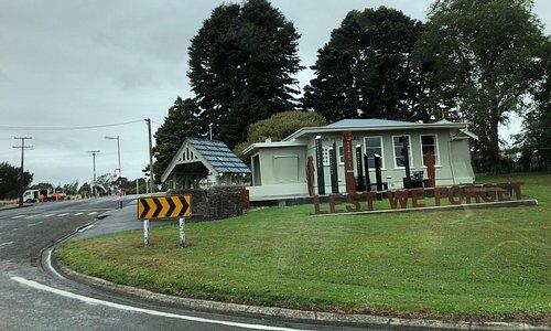 War Memorial at Eketahuna, NZ