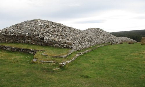 Grey Cairns of Camster: the Long Cairn
