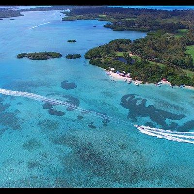 Ile aux cerfs island in mauritius