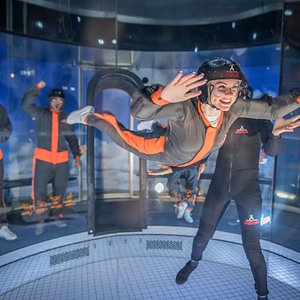 Take the leap and get ready to feel the rush of free fall in our indoor wind tunnel.