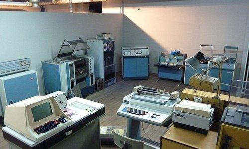 Sala obliczeniowa komputera ODRA 1305