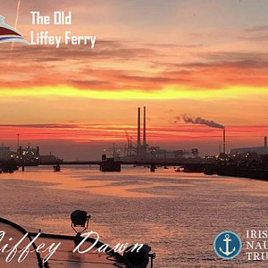 The Liffey at Dawn - The Old Liffey Ferry