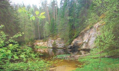 Foto över Lilla Taevaskoja.