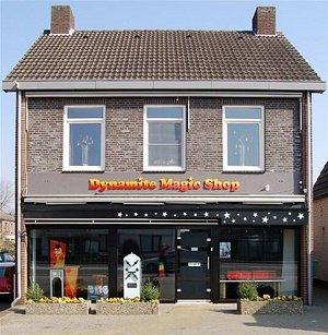 Dynamite Magic Shop inside and outside!