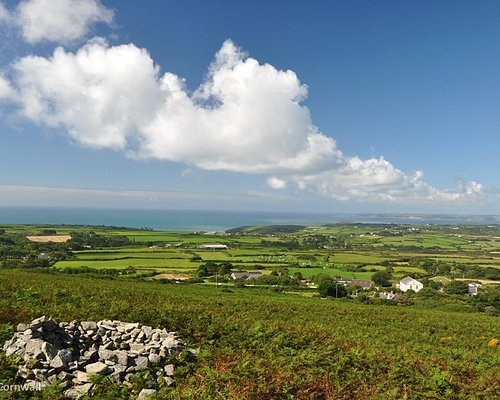 View from Tregonning Hill