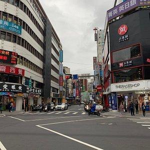 Fuzhong shopping area