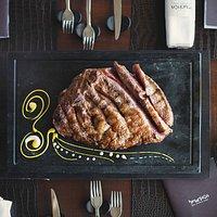 Taglio di carne del Brasile la picanha.