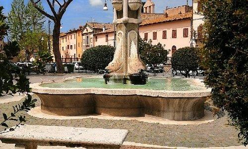 La fontana del Mascherone - Monte Romano (VT)