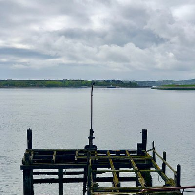 Heartbreak Pier from the balcony of Titanic Experience Cobh.