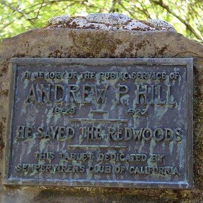 Andrew P. Hill Plaque