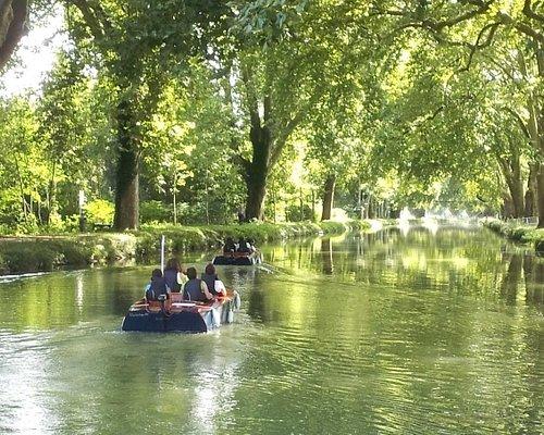 Balade en bateau le long du canal Rhin-Rhône à bord des runabout Victory
