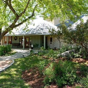 Welcome to the Visitor Center where inside you will find many displays of Hill Country fauna and flora.