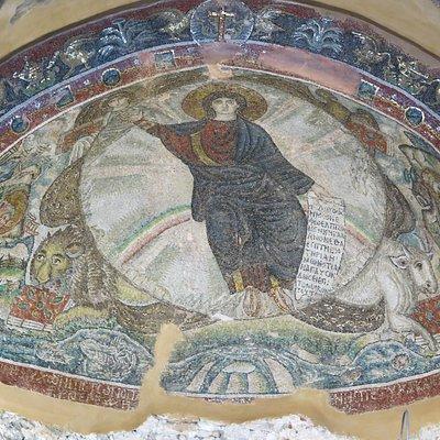 La Mosaïque du Dieu Sauveur ( 5° siècle)