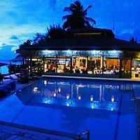 OTB ...on the beach Bar & Restaurant @ Manuia Beach Resort.....a must do when in Rarotonga