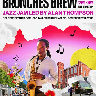 Brunches Brew is our weekly jazz jam brunch hosted by Alan Thompson (Zoocru, sax). Each Sunday grab a seat on the lawn and enjoy good vibes, food trucks and a cold brew from Hi-Wire. This event is FREE. Please let us know you are coming by RSVP.