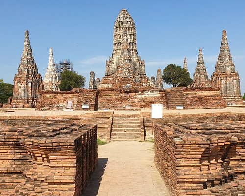 Ayutthaya an ancient city as A World heritage in the UNESCO list in Early morning. Quite peaceful.