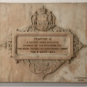 8th May 1907 marble plaque.