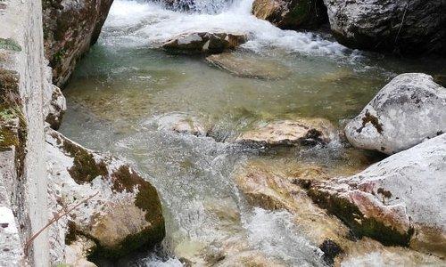 La meravigliosa cascata di Isola