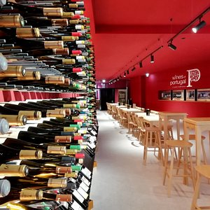 Wines of Portugal Tasting Room Porto