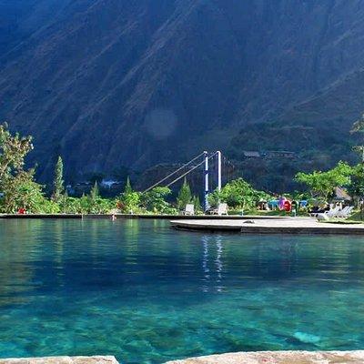 Cocalmayo hot springs on Santa Teresa - Ruta Inca Jungle to Machu Picchu - CONDE TRAVEL PERU