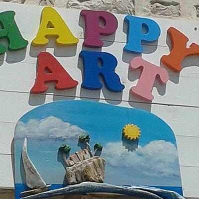 Happy art Logo.