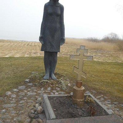 Den sörjande kvinnan som monument.
