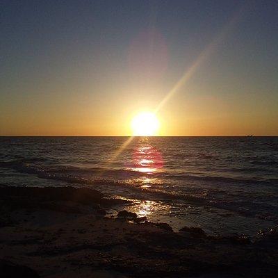 Sun set on Nirvana love beach