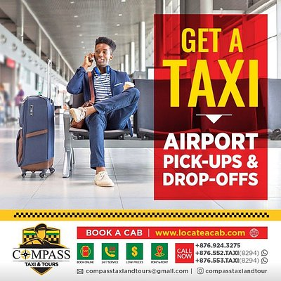 www.locateacab.com  The easiest most efficient way to book a cab in Kingston and St. Andrew. You feel like calling? Get to us at 876-924-3275 or 876-552(taxi) or 876-553(taxi). Safe and Secure, the only way we drive!