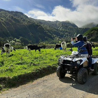 Quad biking Azores