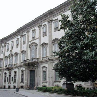 La facciata esterna