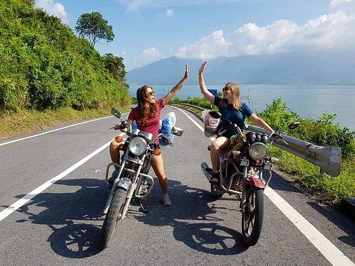 A great day biking from Hue to Hoi An via Hai Van Pass