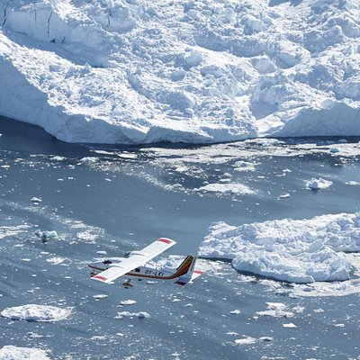 Experience beautiful glaciers, icebergs, whales, valleys and wildlife from the comfort of our twin engine airplanes.
