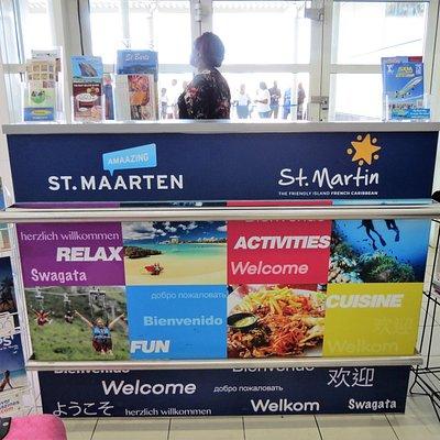 St. Maarten Visitor's Information Center - Princess Juliana International Airport Baggage Claim