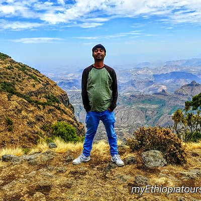 That is me Nure ! one love self apointed boss , guide , driver , owner ...from my Ethiopia tours