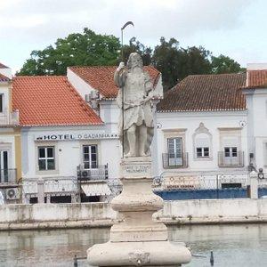Estatua do Gadanha ou de Deus Saturno