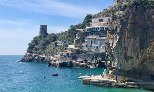 Hidden spot on the Amalfi coast