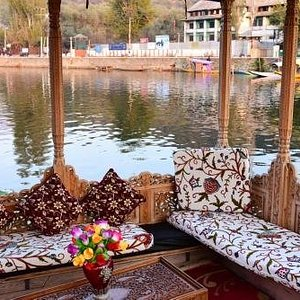 Dal Lake View from house boat