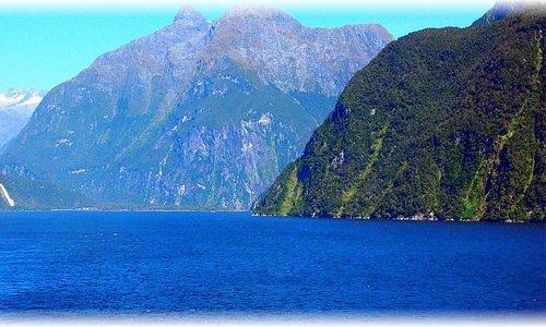 Fiordland National Park on the Tasman Sea. NZ
