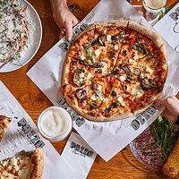 Our Sorentina - the perfect combination between fresh veggies, high quality mozzarella.