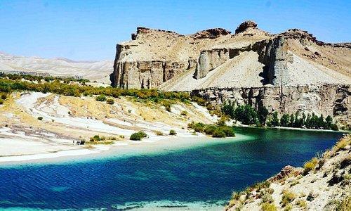 beautiful scene of Band-e-Amir