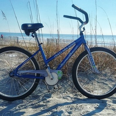"""Our 26"""" Unisex bike is our most popular bike to rent on Hilton Head beaches!"""