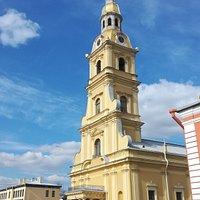 Питер. Собор в Петропаловской крепости